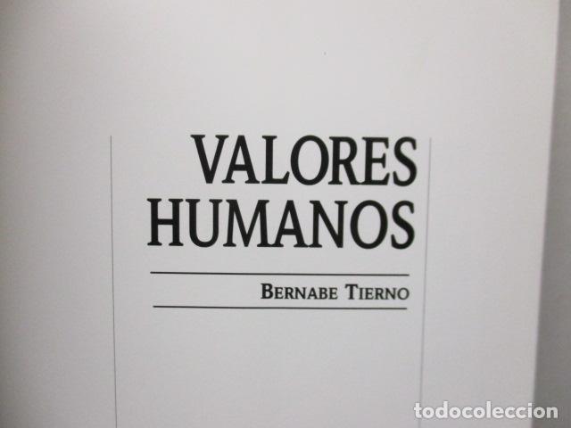 Libros de segunda mano: Valores Humanos - Primer Volumen - Bernabé Tierno - Taller de Editores - Foto 8 - 263106370