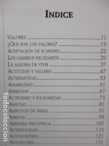 Libros de segunda mano: Valores Humanos - Primer Volumen - Bernabé Tierno - Taller de Editores - Foto 11 - 263106370