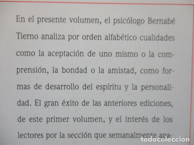 Libros de segunda mano: Valores Humanos - Primer Volumen - Bernabé Tierno - Taller de Editores - Foto 15 - 263106370