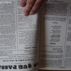 Libros de segunda mano: LO QUE PASSA. 1868. PRIMER SETMANARI EN CATALÀ DE TARRAGONA. PEDRO ANTONIO HERAS Y CABALLERO ET AL.. Lote 159867926