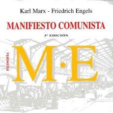 Libros de segunda mano - MANIFIESTO COMUNISTA - KARL MARX - FRIEDRICH ENGELS - 160441518