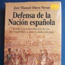 Libros de segunda mano: DEFENSA DE LA NACIÓN ESPAÑOLA. Lote 160813946