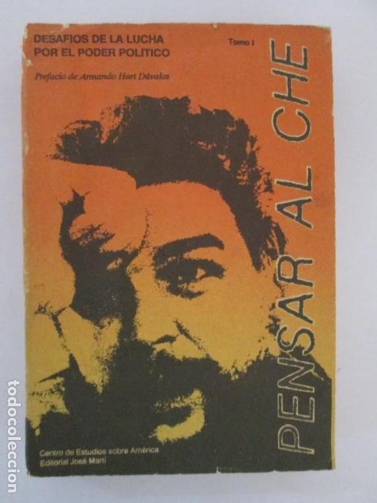 Libros de segunda mano: PENSAR AL CHE. TOMO I Y II. CENTRO DE ESTUDIOS SOBRE AMERICA. EDITORIAL JOSE MARTI - Foto 7 - 161234130