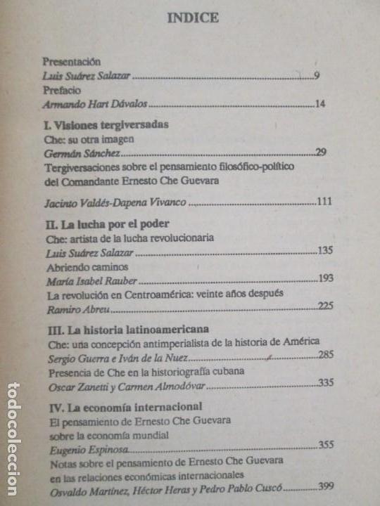 Libros de segunda mano: PENSAR AL CHE. TOMO I Y II. CENTRO DE ESTUDIOS SOBRE AMERICA. EDITORIAL JOSE MARTI - Foto 9 - 161234130