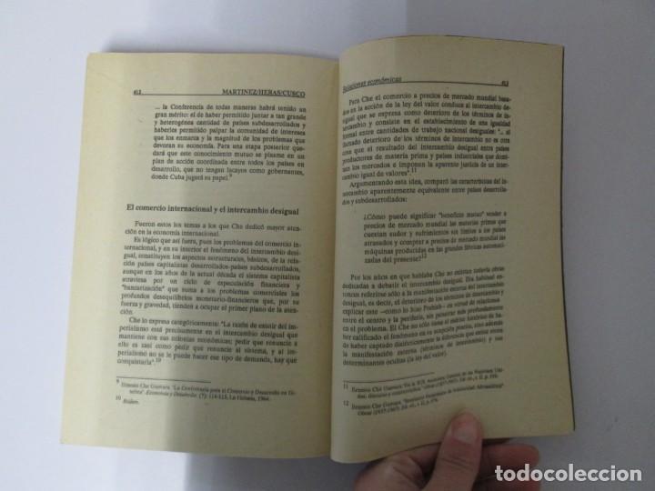 Libros de segunda mano: PENSAR AL CHE. TOMO I Y II. CENTRO DE ESTUDIOS SOBRE AMERICA. EDITORIAL JOSE MARTI - Foto 15 - 161234130
