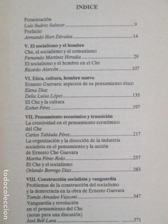 Libros de segunda mano: PENSAR AL CHE. TOMO I Y II. CENTRO DE ESTUDIOS SOBRE AMERICA. EDITORIAL JOSE MARTI - Foto 25 - 161234130