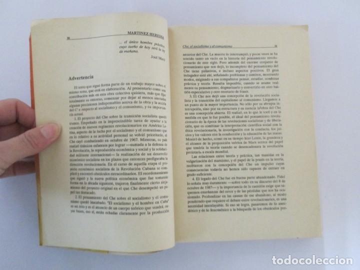 Libros de segunda mano: PENSAR AL CHE. TOMO I Y II. CENTRO DE ESTUDIOS SOBRE AMERICA. EDITORIAL JOSE MARTI - Foto 26 - 161234130