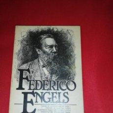 Libros de segunda mano: FEDERICO ENGELS, ESBOZO BIÓGRAFICO, EUGENIA STEPANOVA. Lote 192095686