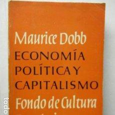 Libros de segunda mano - Maurice DOBB : Economía política y capitalismo. (Fondo de Cultura Económica, México, 1961) - 163523242