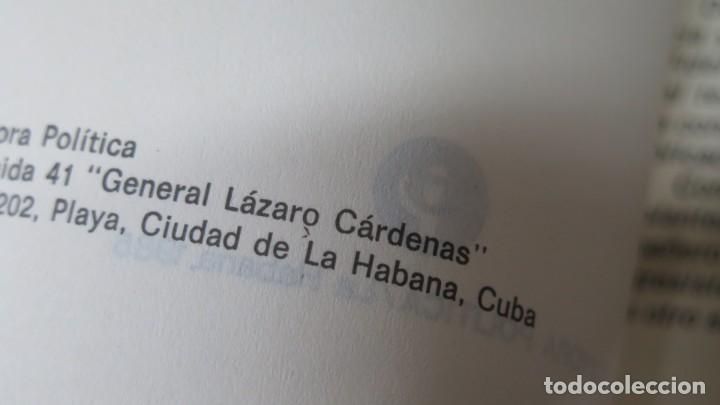 Libros de segunda mano: NADA PODRA DETENER LA MARCHA DE LA HISTORIA. FIDEL CASTRO. ED. LA HABANA - Foto 4 - 163735118