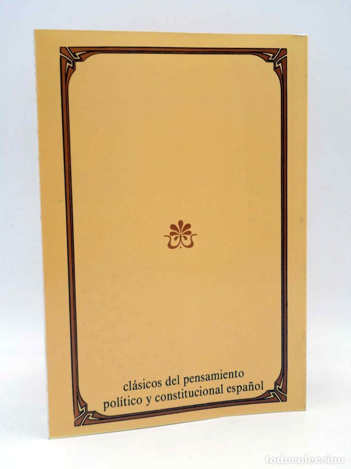 Libros de segunda mano: NORTE DE PRÍNCIPES Y VIDA DE RÓMULO (Juan Pablo Mártir Rizo) CEPC, 1988 - Foto 2 - 164673353