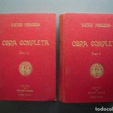 Libros de segunda mano: OBRA COMPLETA 2 TOMOS - VÍCTOR PRADERA PRÓLOGO DE FRANCISCO FRANCO. Lote 164922954