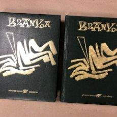 Libros de segunda mano: BRANKA (2 TOMOS). EUSKALDUN SOZIALISTA ALDIZKARIA. EDICIONES VASCAS ARGITALETXEA 1979.. Lote 165077421