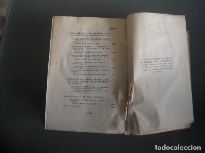 Libros de segunda mano: Obras completas de Jose Antonio Primo de Rivera Editora Nacional con prEFACIO de Francisco Franco - Foto 7 - 165336366