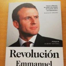 Libros de segunda mano: REVOLUCIÓN (EMMANUEL MACRON). Lote 165397994