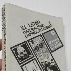 Libros de segunda mano - MATERIALISMO Y EMPIRIOCRITICISMO - V.I. LENIN - 165619394