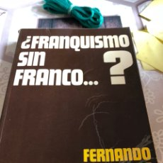 Libros de segunda mano: LIBRO FRANCISCO SIN FRANCO?. Lote 166371828