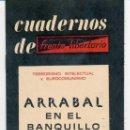 Libros de segunda mano: CUADERNOS DE FRENTE LIBERTARIO N. 3 - ARRABAL EN EL BANQUILLO (1977). Lote 167551932