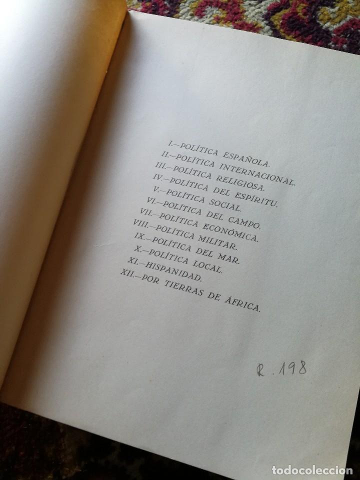 Libros de segunda mano: TEXTOS DE DOCTRINA POLÍTICA. PALABRAS Y ESCRITOS DE 1945 A 1950. FRANCISCO FRANCO. MADRID. 1951 - Foto 3 - 167857100