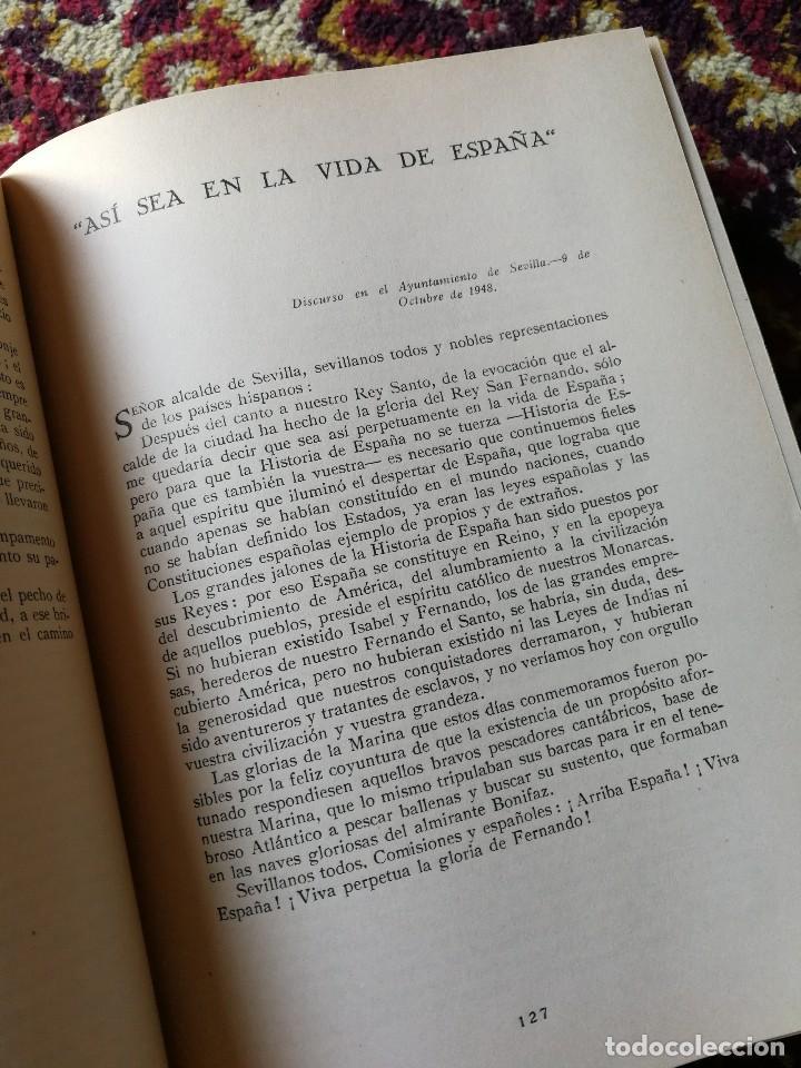 Libros de segunda mano: TEXTOS DE DOCTRINA POLÍTICA. PALABRAS Y ESCRITOS DE 1945 A 1950. FRANCISCO FRANCO. MADRID. 1951 - Foto 5 - 167857100