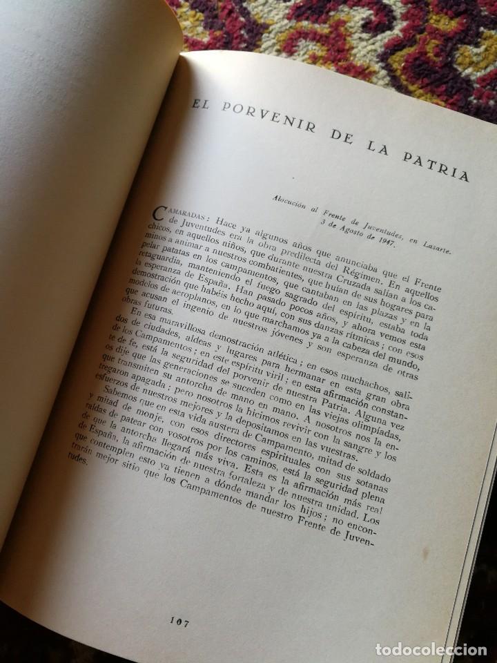 Libros de segunda mano: TEXTOS DE DOCTRINA POLÍTICA. PALABRAS Y ESCRITOS DE 1945 A 1950. FRANCISCO FRANCO. MADRID. 1951 - Foto 6 - 167857100
