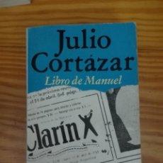 Libros de segunda mano: LIBRO DE MANUEL AUTOR JULIO CORTÁZAR. Lote 167891264