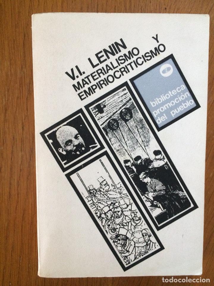 MATERIALISMO Y EMPIROCRITICISMO - V. I. LENIN (Libros de Segunda Mano - Pensamiento - Política)