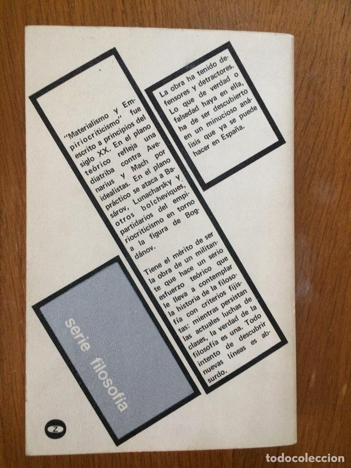 Libros de segunda mano: Materialismo y empirocriticismo - V. I. Lenin - Foto 2 - 167970708