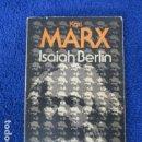 Libros de segunda mano: KARL MARX - ISAIAH BERLIN - ALIANZA EDITORIAL. Lote 168107968