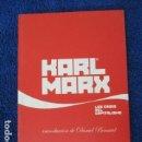 Libros de segunda mano: LAS CRISIS DEL CAPITALISMO, KARL MARX / INTRODUCCIÓN DE DANIEL BENSAÏD / PUBLICO. Lote 168111052