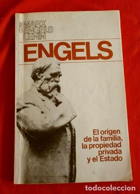 EL ORIGEN DE LA FAMILIA (1986) ENGELS (EDICION IMPRESA EN LA URSS) ED. PROGRESO MOSCU - COMUNISTA (Libros de Segunda Mano - Pensamiento - Política)