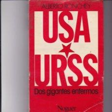 Livros em segunda mão: USA. URSS. DOS GIGANTES ENFERMOS. PEDIDO MÍNIMO EN LIBROS: 4 TÍTULOS. Lote 168294028