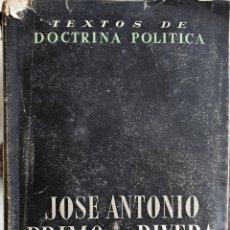 Gebrauchte Bücher - JOSE ANTONIO PRIMO DE RIVERA. OBRAS COMPLETAS - 168366128
