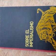 Libros de segunda mano: SOBRE EL IMPERIALISMO - LENIN. Lote 168464668