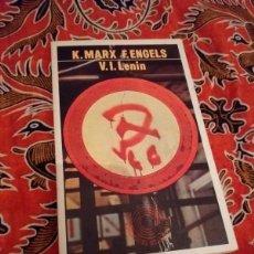 Libros de segunda mano: LENIN - MARX ENGELS - LAIA 1976. Lote 168939100