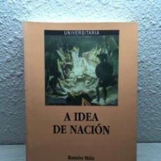 Libros de segunda mano: RAMÓN MÁIZ. A IDEA DE NACIÓN. Lote 169348164
