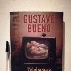 Libros de segunda mano: LIBRO - TELEBASURA Y DEMOCRACIA - POLITICA - GUSTAVO BUENO. Lote 169361000