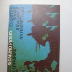 Libros de segunda mano: ESCRITOS SOBRE JUDAÍSMO ANTISEMITISMO. Lote 169566816
