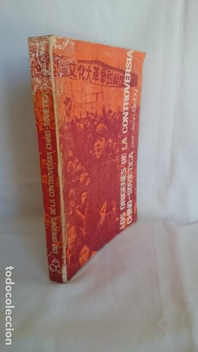 Libros de segunda mano: Los orígenes de la controversia chino-sovietica1961 - Foto 2 - 170899675