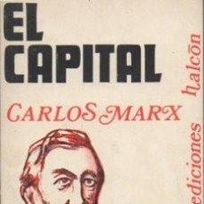 Libros de segunda mano: EL CAPITAL. COLECCIÓN 9 POR 18 Nº 5 - MARX, CARLOS - A-P-1482. Lote 171359953