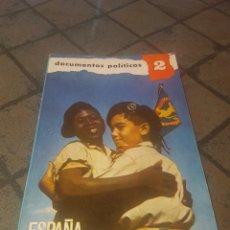 Libros de segunda mano: ESPAÑA EN EL ÁFRICA ECUATORIAL DOCUMENTOS POLÍTICOS. Lote 171673337