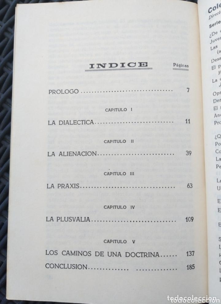 Libros de segunda mano: EL MARXISMO. HENRI ARVON. 1966. BIBLIOTECA PROMOCION DEL PUEBLO. MARX. - Foto 4 - 172135895