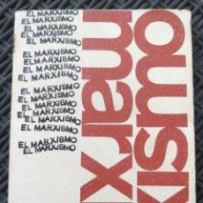 Libros de segunda mano: EL MARXISMO. HENRI ARVON. 1966. BIBLIOTECA PROMOCION DEL PUEBLO. MARX.. Lote 172135895