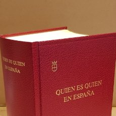 Libros de segunda mano: QUIEN ES QUIEN EN ESPAÑA / EDICIÓN 2011 / EDITORIAL CAMPILLO / LIBRO COMO NUEVO / OCASIÓN !!. Lote 172665039