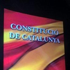 Libros de segunda mano: CONSTITUCIO DE CATALUNYA. . Lote 173225818
