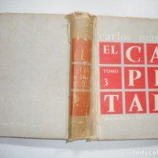 Libros de segunda mano: CARLOS MARX EL CAPITAL TOMO 3 Y95540. Lote 173367798
