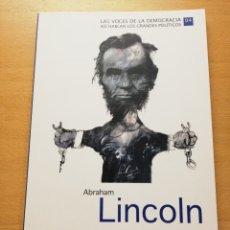 Libros de segunda mano: ABRAHAM LINCOLN. EL DISCURSO DE GETTYSBURG Y OTROS DISCURSOS (BIBLIOTECA EL MUNDO). Lote 173681115
