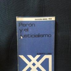 Libros de segunda mano: PERÓN Y EL JUSTICIALISMO ALBERTO CIRIA. Lote 174215342
