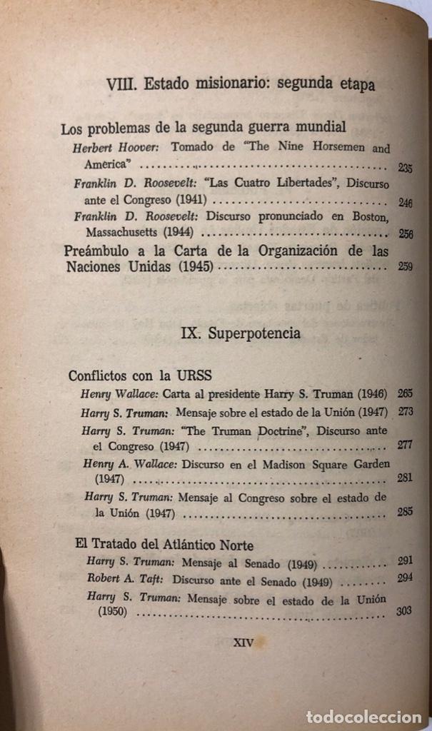 Libros de segunda mano: LAS RELACIONES INTERNACIONALES. LEONARD W. LEVY Y JOHN P. ROCHE. VEA Y LEA. BUENOS AIRES 1963 - Foto 3 - 174883912