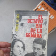 Libros de segunda mano: EL OCTAVO DÍA DE LA SEMANA, MAREK HLASKO. L.9309-309. Lote 175193448